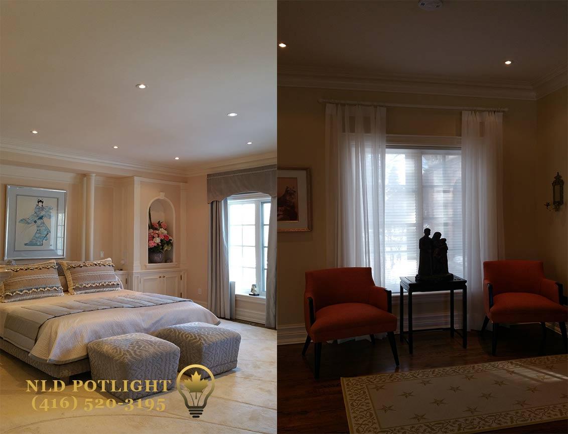 Pot Lights Room 2
